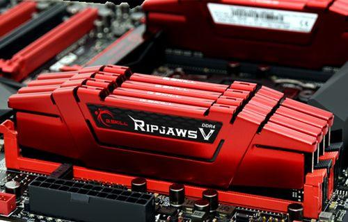 G.Skill, Ripjaws V Serisi 128 GB DDR4 Belleklerini Duyurdu