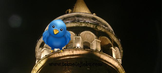 Tweet'leriniz Galata Kulesi'nde yayınlanacak!
