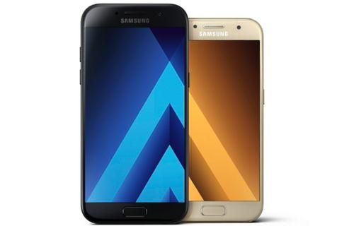 Galaxy A3, Galaxy A5 ve Galaxy A7 (2017) tanıtıldı