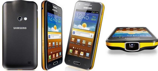 Samsung Galaxy Beam Türkiye'de!
