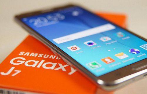 2017 model Galaxy J7'nin ilk görüntüsü yayınlandı