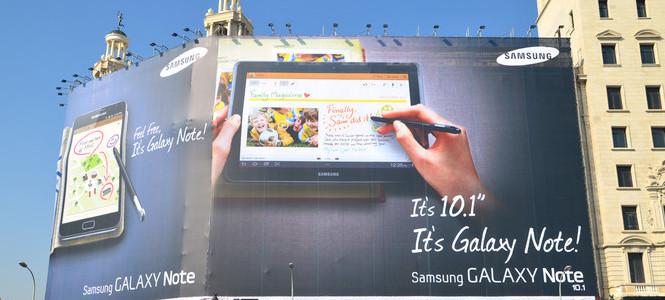 Samsung Galaxy Note 10.1 satışa çıkıyor!