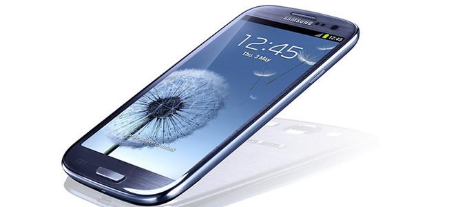 Galaxy S 3'ün zil sesi ve duvar kağıtları sızdırıldı!