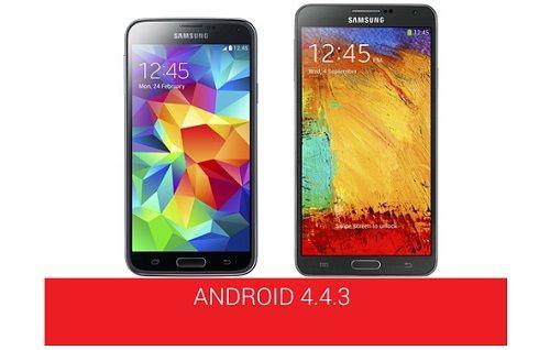 Galaxy Note 3 ve Galaxy S5 ne zaman Android 4.4.3 güncellemesi alacak?