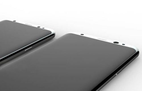 Galaxy S8 ekranı açıkken canlı canlı sızdırıldı