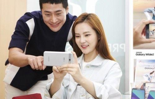 Samsung Galaxy Wide 2 tanıtıldı!