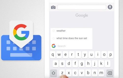 Google Klavye yeni özellikler ile güncellendi