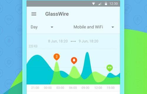 GlassWire ile Android'de veri tüketimini ayrıntılı görün!