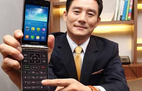 Samsung'un altın renkli kapaklı telefonu yine sızdırıldı
