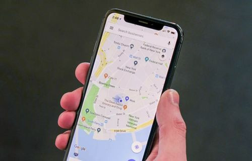 Google Haritalar'a iPhone X dopingi
