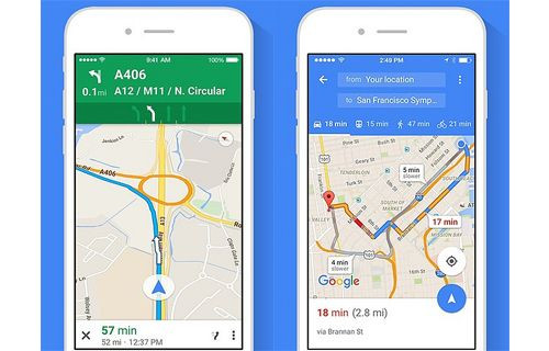 Google Maps iOS Sürümü Güncellendi