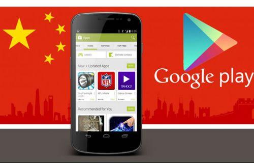 Google Play Store Çin Yolunda