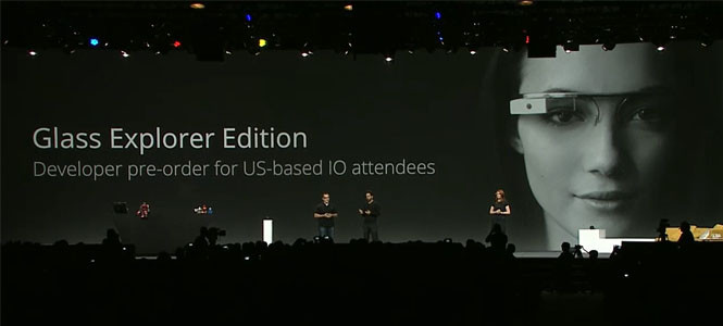 Google Project Glass gözlük ön siparişe sunuldu!