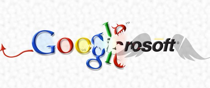 Google, Microsoft' u suçluyor