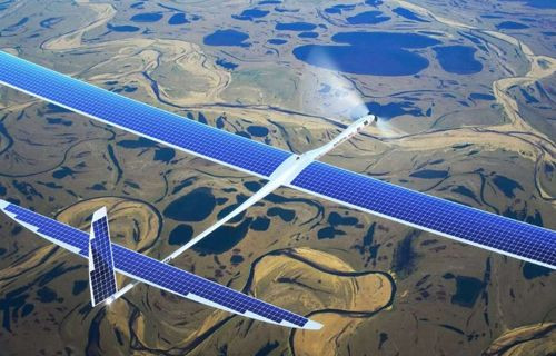 Google'ın Güneş Enerjili Drone'u Çakıldı