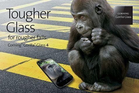Samsung Galaxy Note 4 ve Galaxy Alpha'da Gorilla Glass 4 kullanacak
