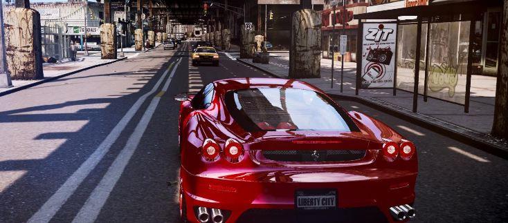 GTA 4'e muhteşem 'Grafik Mod'u!