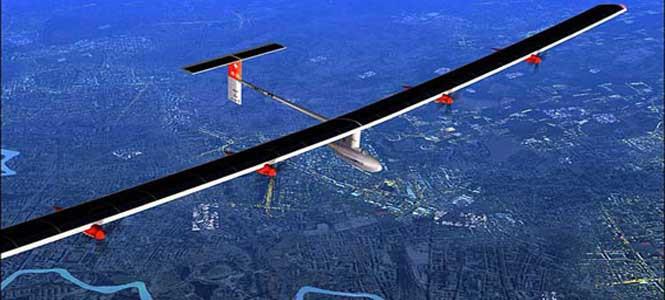 Bu uçak güneş enerjisiyle uçuyor!