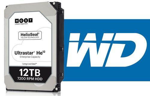 Western Digital'den 12 TB'lık HDD!
