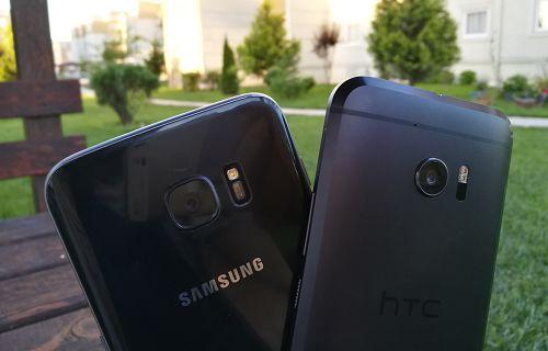 HTC 10 ve Galaxy S7 sağlamlık testinde! (Video)