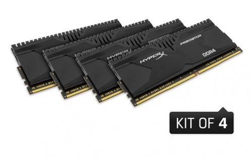 HyperX DDR4 Predator ve Savage RAM Kit'lerini duyurdu