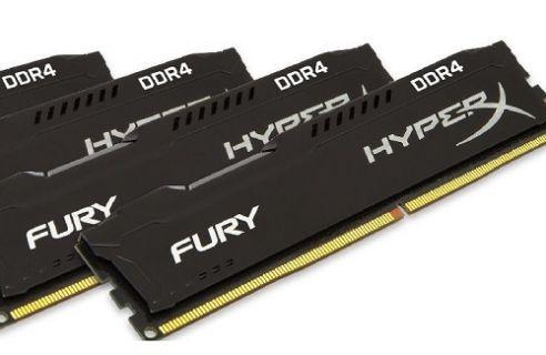 HyperX Fury DDR4 RAM Kit'lerini Duyurdu