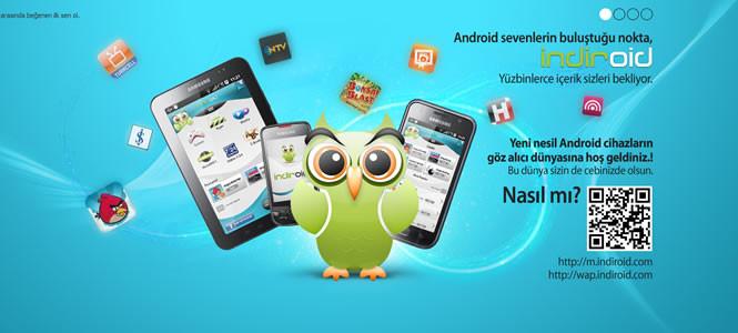 Android kullanıcıları için indiroid portalı açıldı