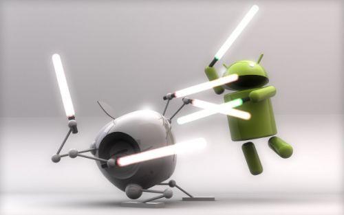 Android en sonunda iPhone'u geçti!