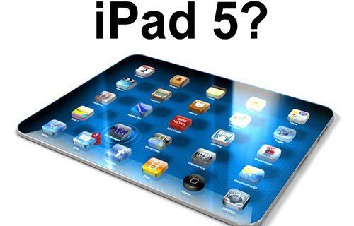 iPad 5'in görüntüsü sızdırıldı!