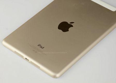 iPad Air 2 Gold rengine de sahip olacak