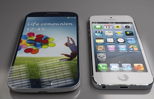 Galaxy S3 ve iPhone 4S çizilme testi! (video)