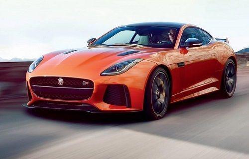 Jaguar F-Type SVR 2016 Modeline Ait İlk Görüntüler Sızdırıldı