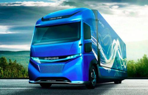 İşte Daimler'in elektrikli kamyonu!