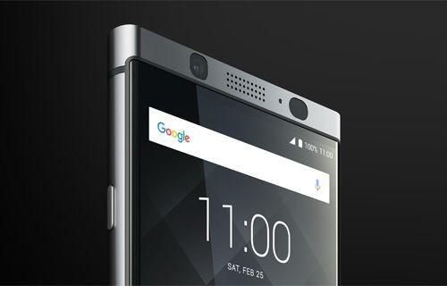 BlackBerry'nin Android'li telefonu KeyOne tanıtıldı!