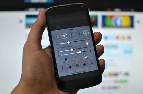 iOS 7'nin bu özelliği Android için klonlandı - indir