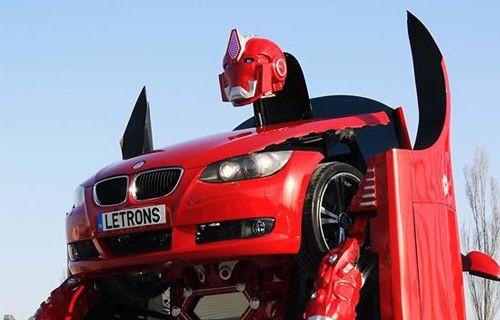 Türkler yaptı: Robota dönüşen otomobil Letrons!