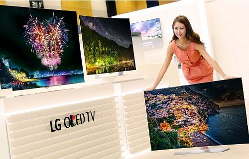 LG, dünyanın ilk HDR teknolojili 4K OLED TV'lerini sergiledi
