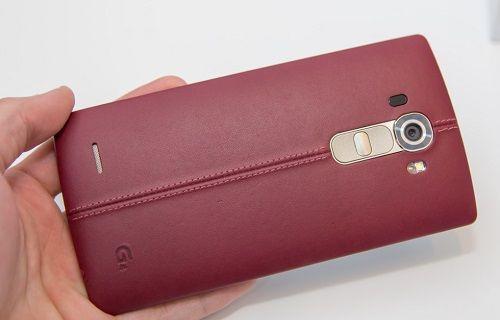 LG G4'ün kırmızı kapaklı modeli satışa çıktı