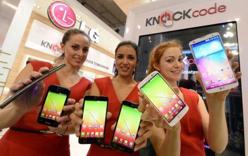 LG yeni akıllı telefonlarını MWC 2014'te tanıttı