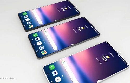 Muhteşem tasarımı ile LG G7 konsepti (Video)