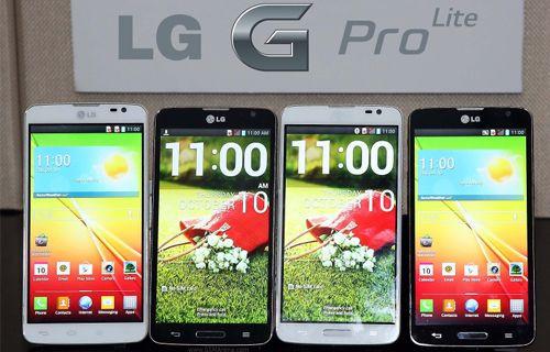 LG'den dijital kalemli akıllı telefon: LG G Pro Lite!