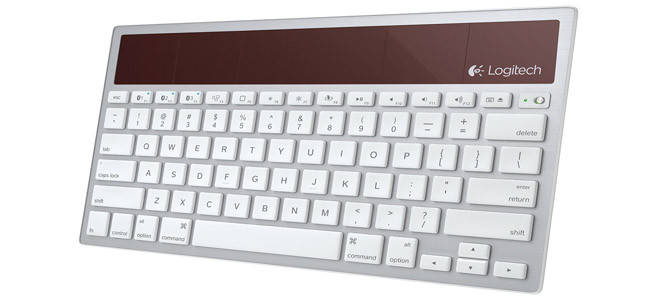 İşte güneş enerjisi ile çalışan klavye!