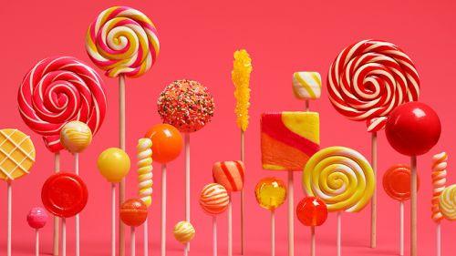 Android 5.0 Lollipop Materyal Tasarımı duvar kağıdı koleksiyonu