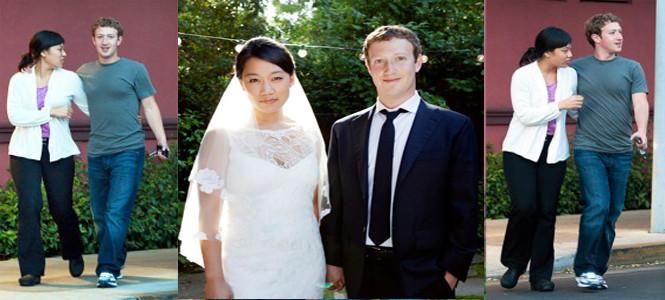 Facebook CEO'su Mark Zuckerberg evlendi!