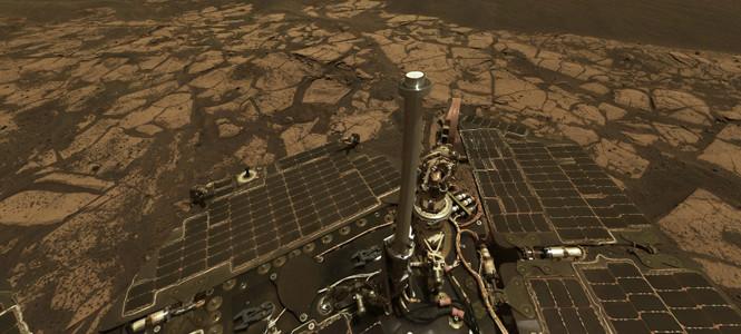 Mars'tan inanılmaz Panaroma görüntüler!