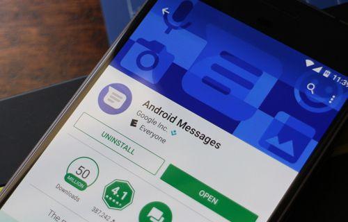Android'in SMS uygulaması değişiyor!
