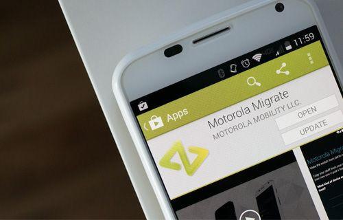 iPhone'dan Motorola'ya kolayca geçiş yapın!