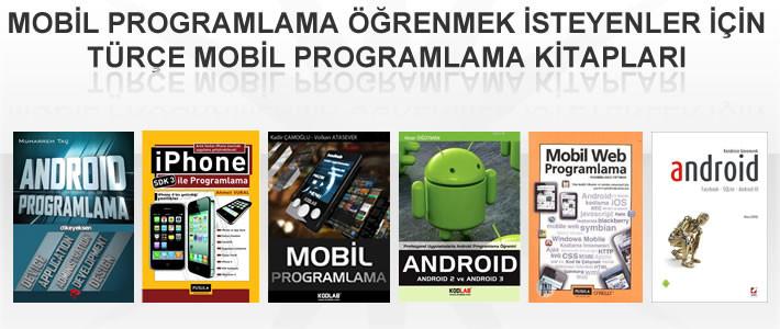 Mobil programlama öğrenmek isteyenler için kitap önerileri