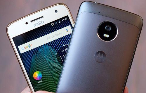 Yeni Moto G5 Türkiye'de satışa sunuldu