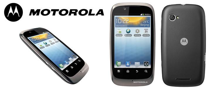 Motorola XT531: uygun fiyatlı akıllı telefon